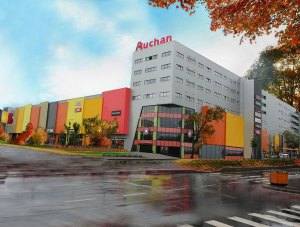 Bucharest - Auchan - supermarket - mineral wool panels