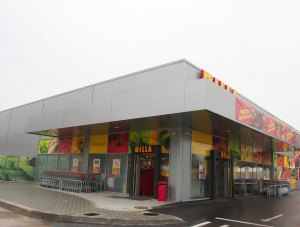 Pipera – Billa – supermarket – mineral wool panels