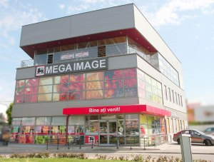 Bucharest – Mega Image – supermarket – mineral wool panels