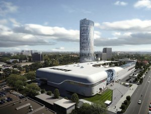 Bucharest – Promenada Mall – shopping center – mineral wool panels