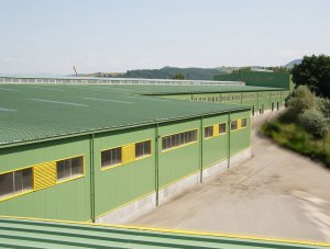 Reghin – Kastamonu Romania – industrial hall – mineral wool panels