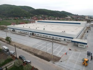 Valcea – Minet – company headquarters and industrial hall – mineral wool panels & PIR panels